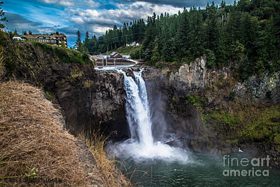 Photograph - Snoqualmie Falls by Chris Heitstuman