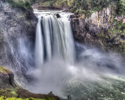 Art Print featuring the photograph Snoqualmie Falls by Chris McKenna