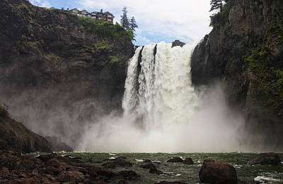 Snoqualmie Photograph - Snoqualmie Falls by Mark Kiver