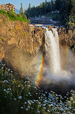 Photograph - Snoqualmie Falls  by Sonya Lang