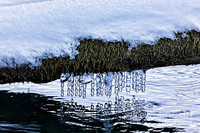 Impressionist Landscapes - Snow and Icicles No. 3 by Belinda Greb