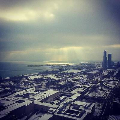 Chicago Photograph - Snow And Sunshine by Jill Tuinier