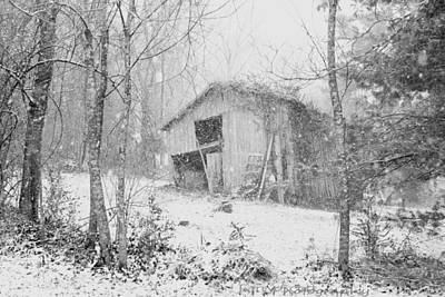 Photograph - Snow Barn Too by Lawrence Scott