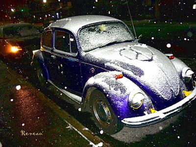 Photograph - Snow Beetle by Sadie Reneau