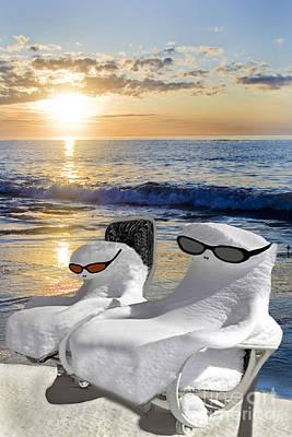 Photograph - Snow Bird Vacation by Gary Keesler