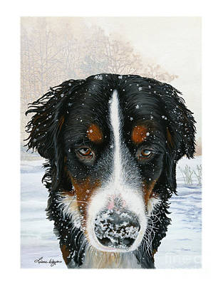 Snow Drifts Painting - Snow Bumper by Liane Weyers