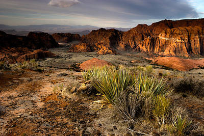 Photograph - Snow Canyon Sunrise by Eric Foltz