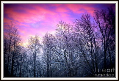 Photograph - Snow Cone Skies by Deb Badt-Covell