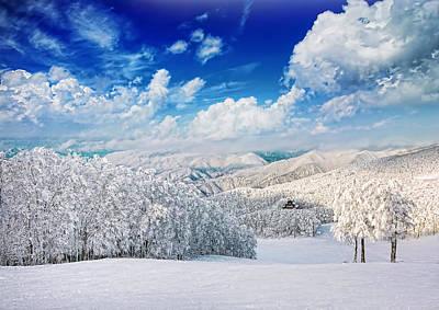 Snow Country Print by Midori Chan