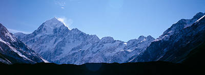 Snow Covered Mountains, Mt. Tutoko Art Print by Panoramic Images