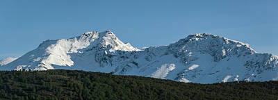Snow Covered Peaks Of Martial Print by Panoramic Images