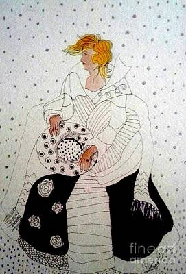 Mixed Media - Snow Dance by Patricia Bunk