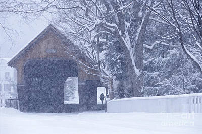 Photograph - Snow Day by Alan L Graham