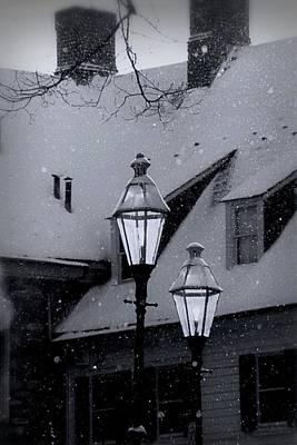 Snow Day Art Print by DJ Florek