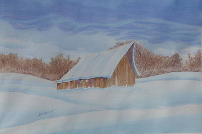 Painting - Snow Day by Joel Deutsch
