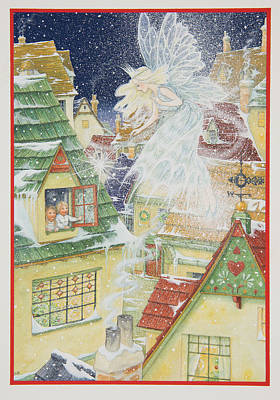 Snow Fairy Painting - Snow Fairy by Lynn Bywaters