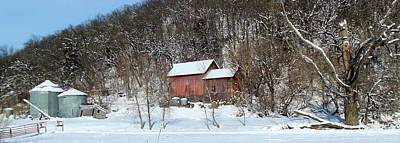 Photograph - Snow Farm by Bonfire Photography