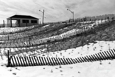 Photograph - Snow Farm Mono by John Rizzuto