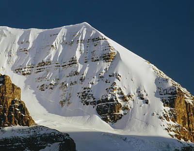 Photograph - 1m3740-snow Flutes On Mt. Andromeda by Ed  Cooper Photography