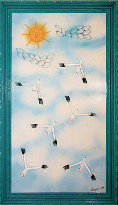 Crush Creations Relief - Snow Geese Return by Crush Creations
