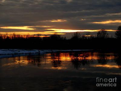 Photograph - Snow Glow by Scott B Bennett