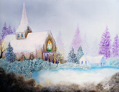Painting - Snow In Florida by David Kacey
