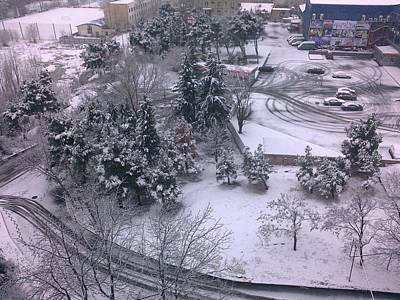 Tbilisi Photograph - Snow In Tbilisi by Kyle  Morgan