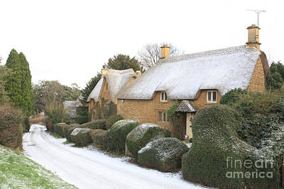 Snow In The Cotswolds Original by Paul Felix