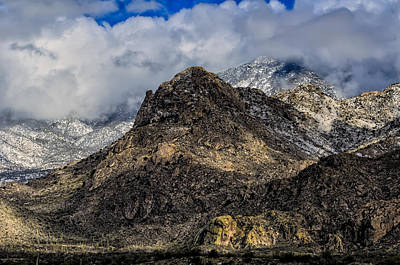 Mark Myhaver Royalty Free Images - Snow In The Mountains No.14 Royalty-Free Image by Mark Myhaver