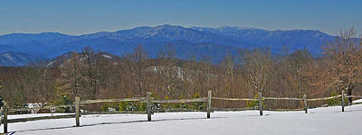 Photograph - Snow In The Smokies by Alan Lenk