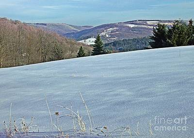 Photograph - Snow In The Valley by Christian Mattison