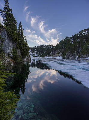 Northwest Photograph - Snow Lake Cloudscape by Mike Reid