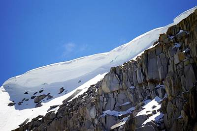 Photograph - Snow Ledge 2 by Michael Courtney