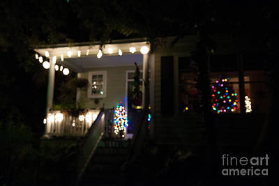 Photograph - Snow Lights by Dale Powell