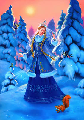 Snow Maiden Original by Eldar Zakirov