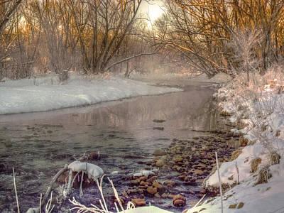 Snow Melts Into Mist Original by William Fields
