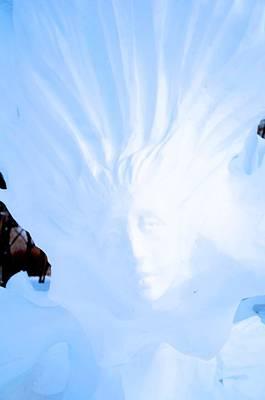 Photograph - Snow Mermaid by Brett Geyer
