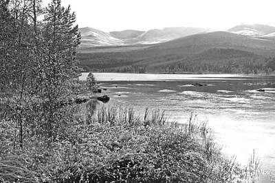 Highlands Of Scotland Photograph - Snow On The Cairngorms by Gill Billington