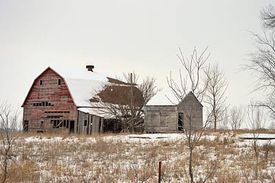 Photograph - Snow On The Roof by Bonfire Photography