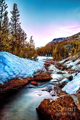 Artistic Photograph - Snow Paradise by Az Jackson