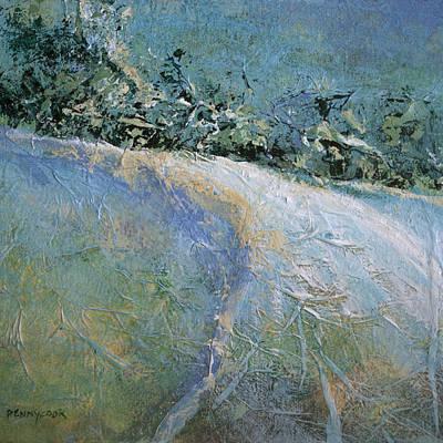 Snow Pasture Art Print by Bob Pennycook