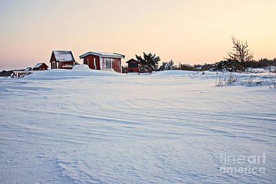 Photograph - Snow Pattern by Kennerth and Birgitta Kullman