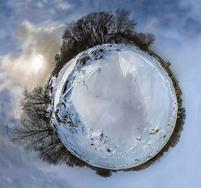 Photograph - Snow Planet by Casey Becker