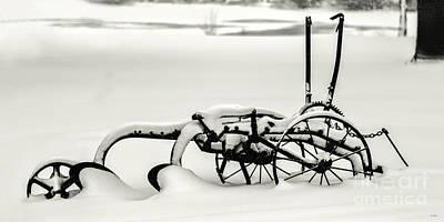 Photograph - Snow Plow by Jon Burch Photography