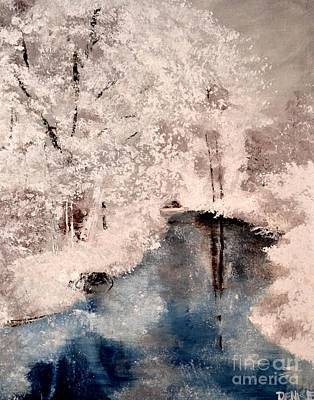 Painting - Winter Wonderland by Denise Tomasura