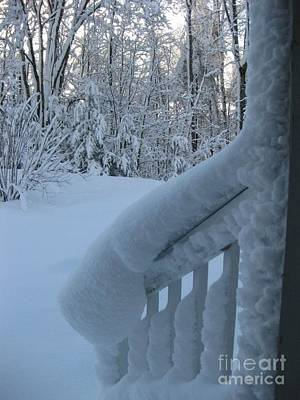 Photograph - Snow Sculpture by Stella Sherman