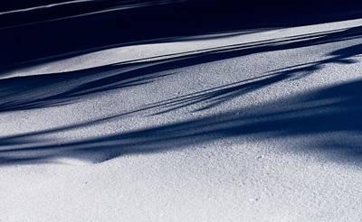 Photograph - Snow Shadows by Milan Surkala