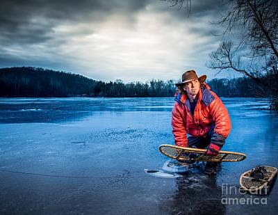 Photograph - Snow Shoes 3 by Jim DeLillo