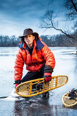 Photograph - Snow Shoes 5 by Jim DeLillo