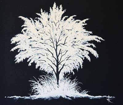 Painting - Snow Tree by Thomas Kolendra